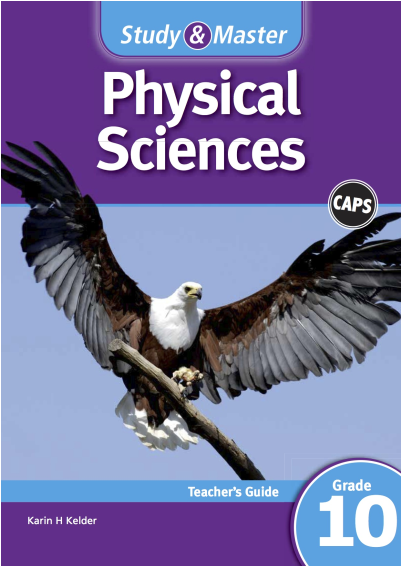 Study & Master Physical Sciences Teacher\'s Guide Grade 10.