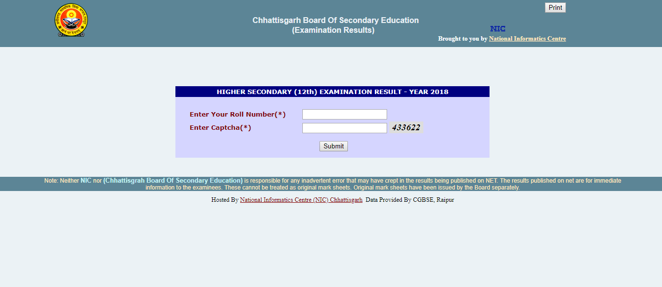 CGBSE 12th Result Suplementary Announced: Check Chhattisgarh.