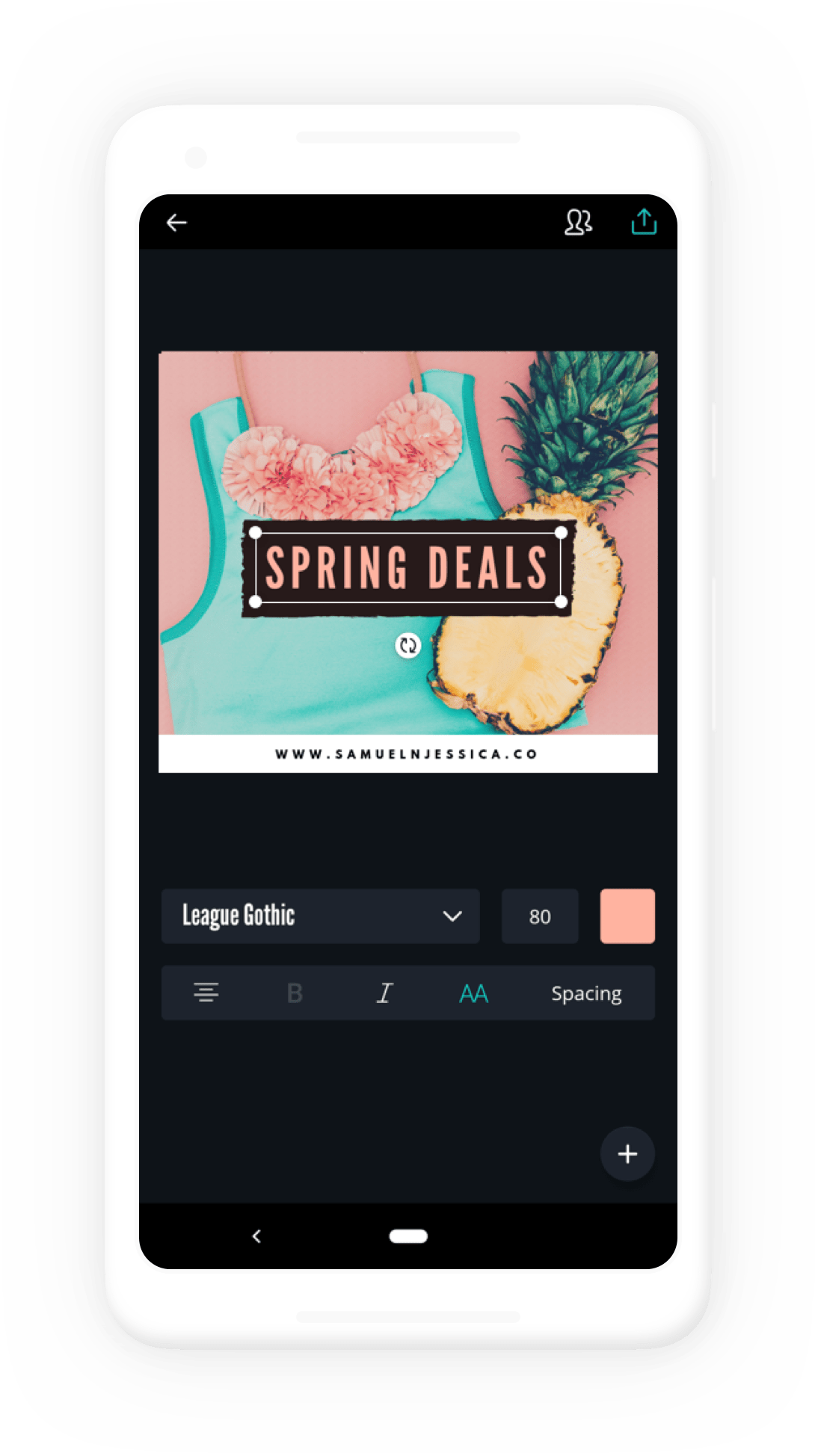 Collaborate & Create Amazing Graphic Design for Free.
