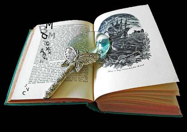 3 Libros imágenes png para descargar gratis.