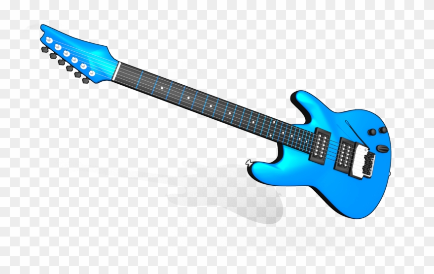 Electric Guitar Png Image.