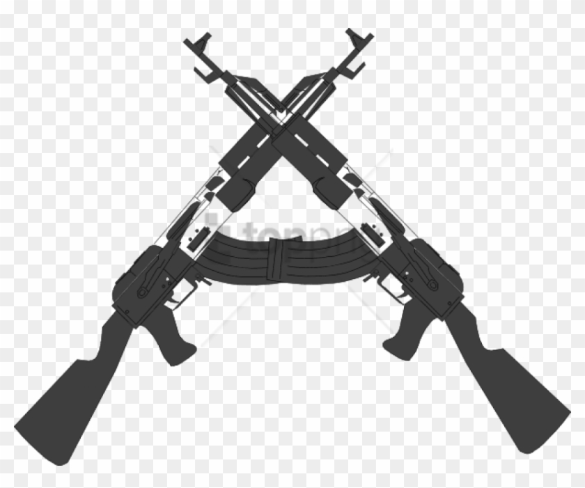 Free Png Guns Crossed Png Image With Transparent Background.