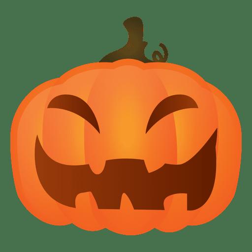 Hard laughing halloween pumpkin.