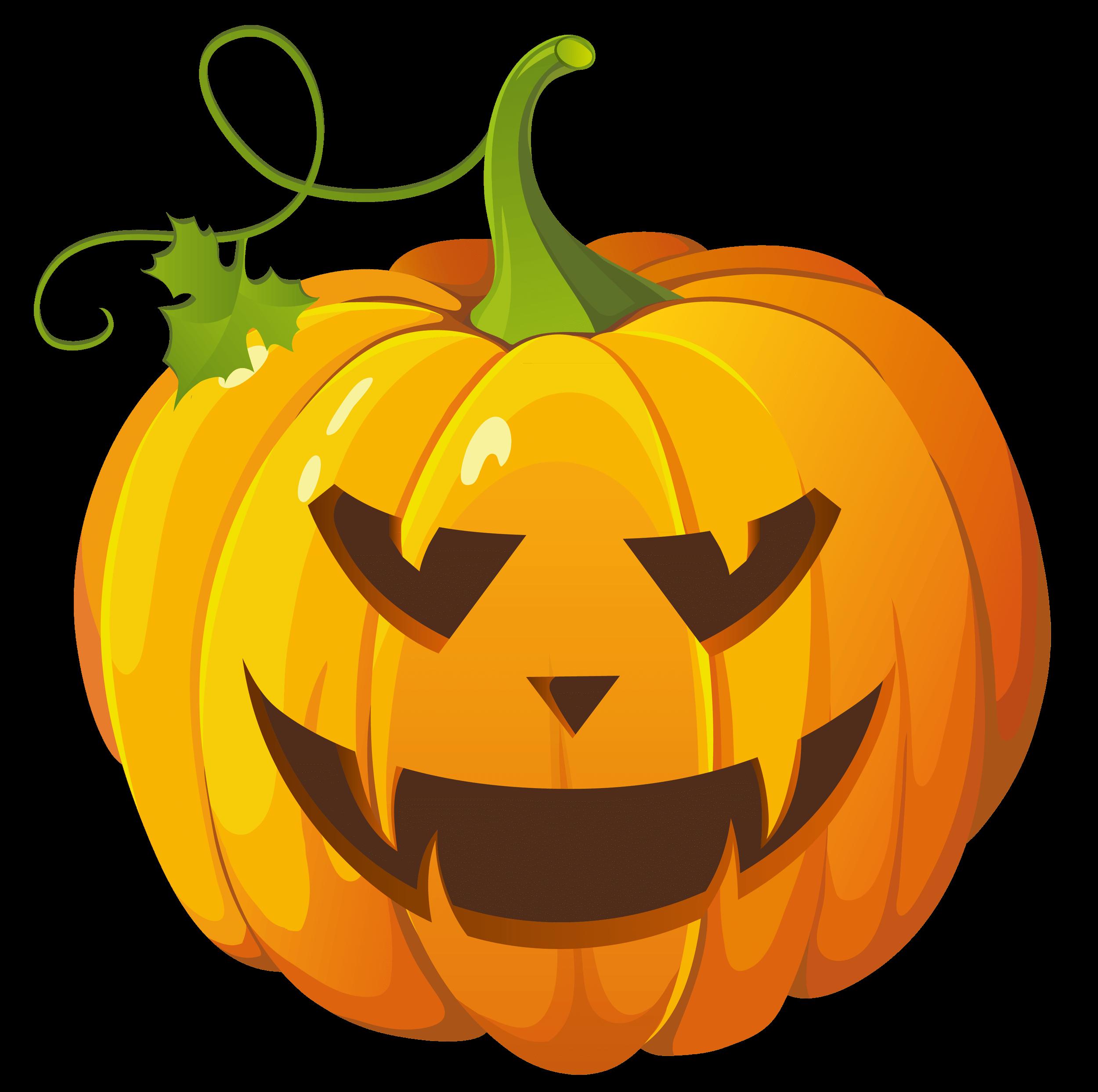 Pumpkin Halloween transparent PNG.