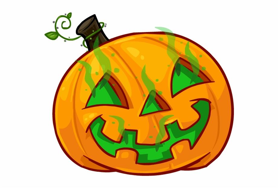 Ghost Pumpkin Head.