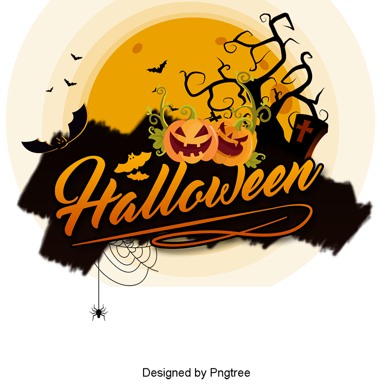 Halloween PNG Images.