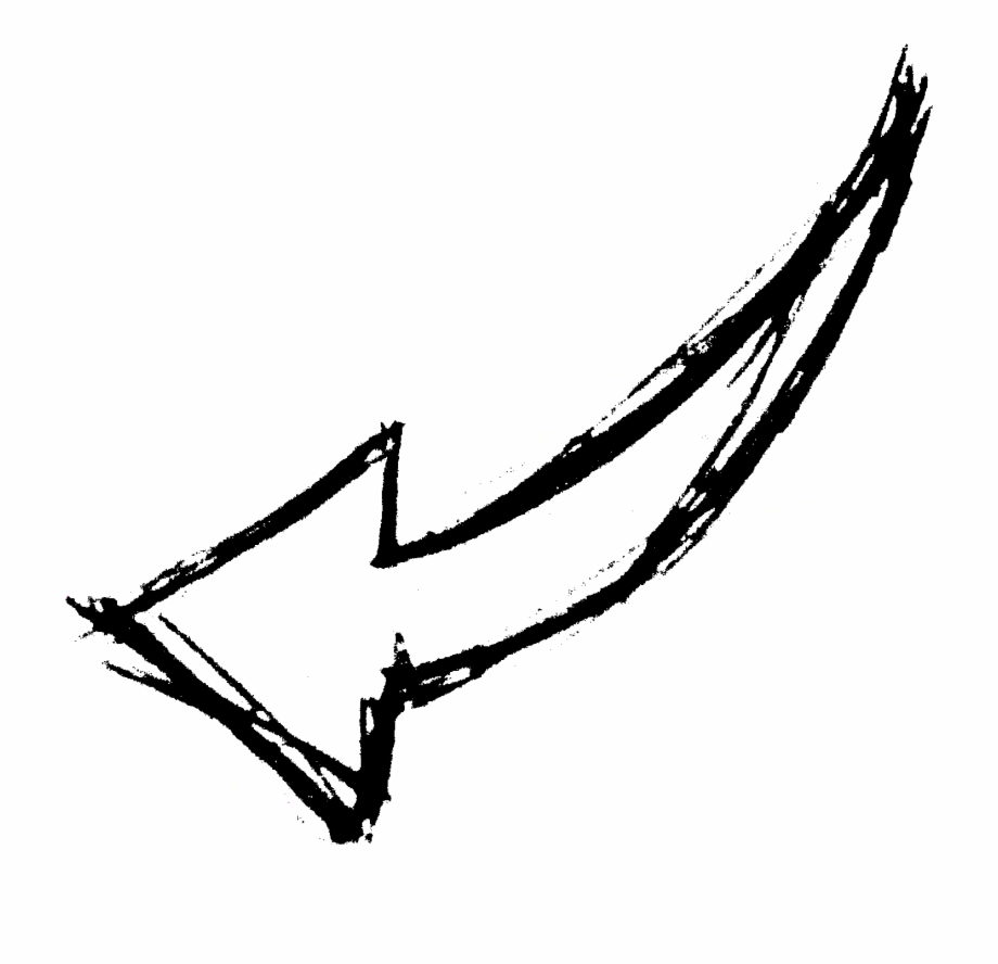 White Hand Drawn Arrows Png Free PNG Images & Clipart.