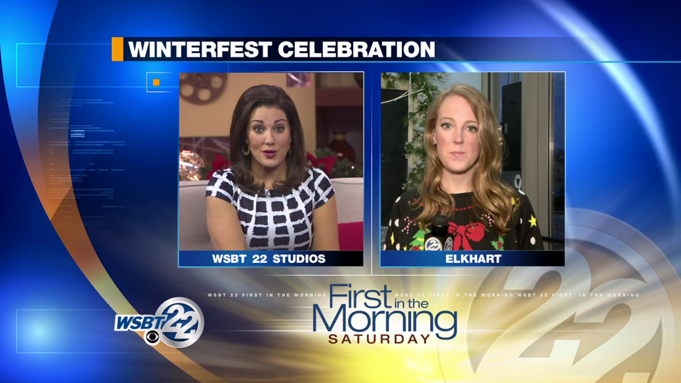 Winterfest happening today in downtown Elkhart!.
