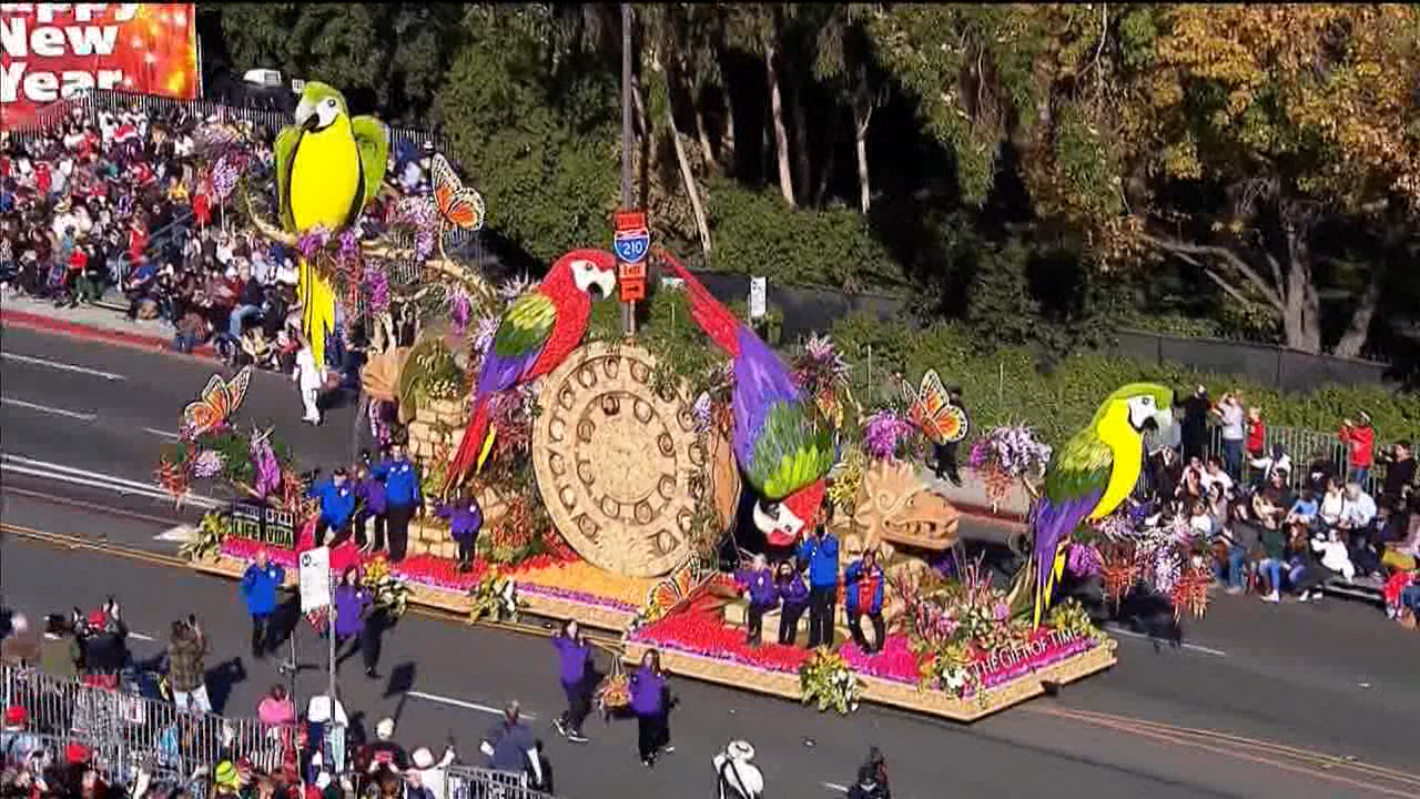Rose Parade happening today on KGET.