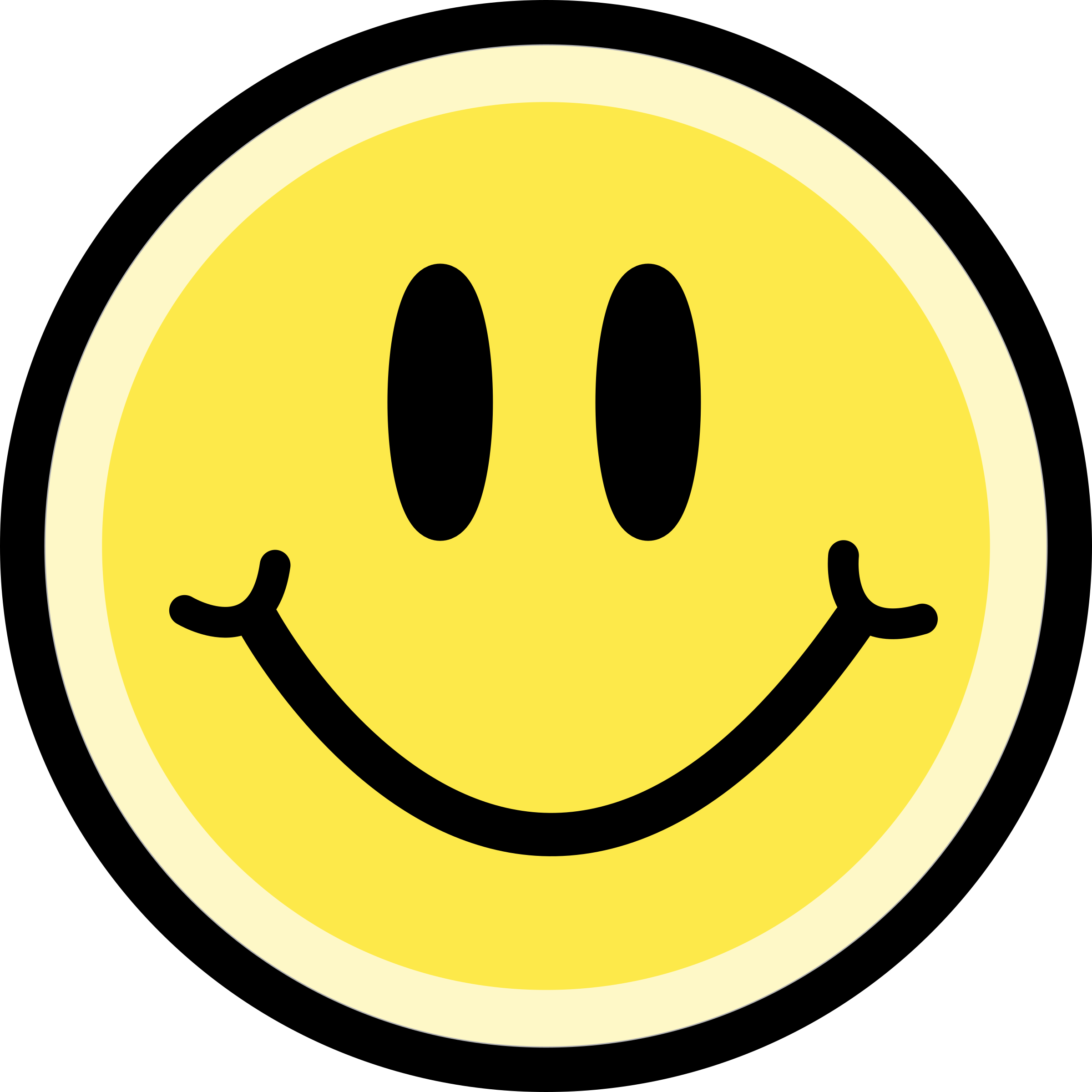 Smiley Looking Happy PNG Image.