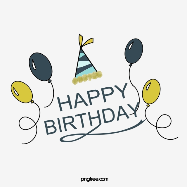 Birthday Card PNG Images.