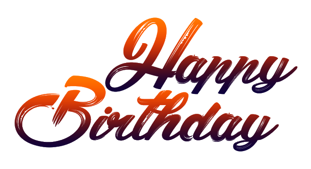 New Happy Birthday Png Fonts Free Download.