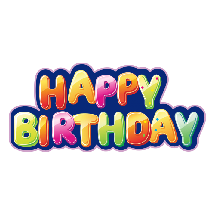 Happy Birthday Text PNG Clip Art Image Free Download.