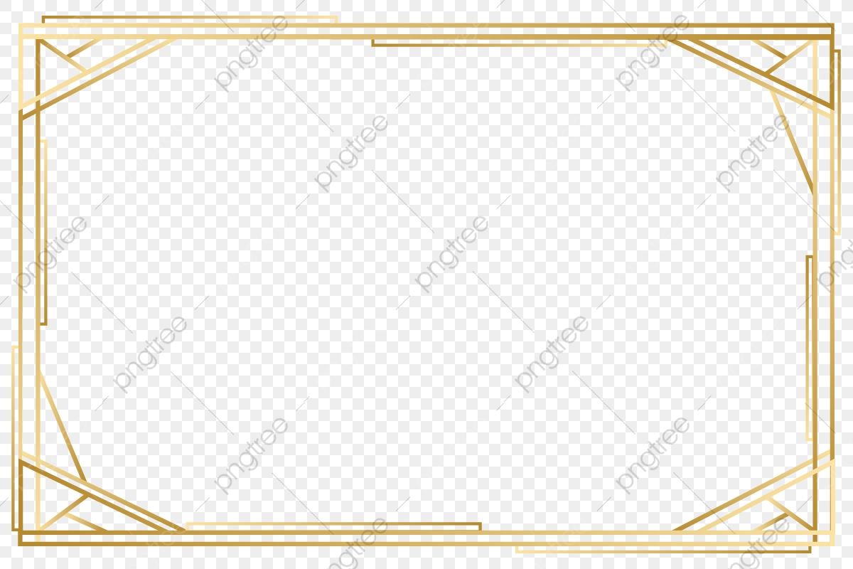 Vector Gold Frame, Png Image, Hd, Vector Material PNG and.