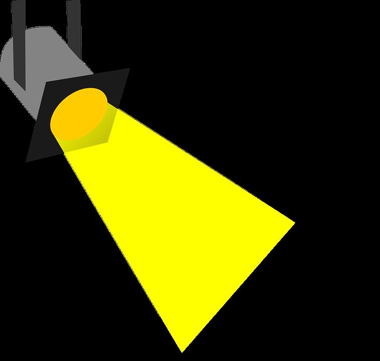 Free vector graphic: Spotlight, Headlight, Headlamp.