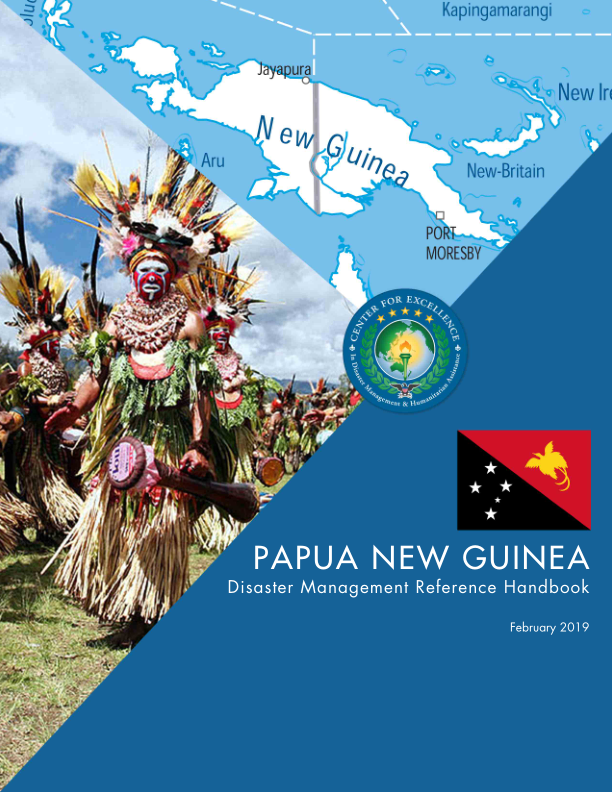 Papua New Guinea: Disaster Management Reference Handbook.