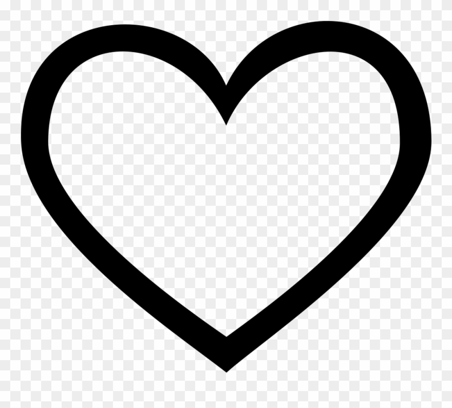 Heart, Png Line Clip Free.