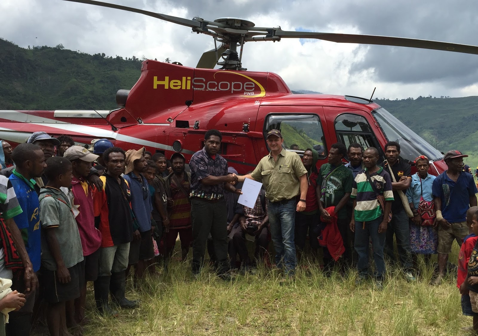 Helicopter Company partners with Yulai Landowners to provide.
