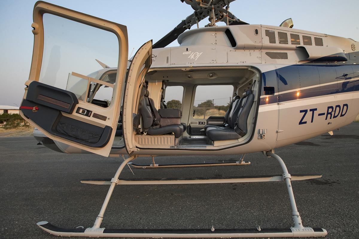 Helicopter Horizons, Botswana, Namibia, Zambia and Zimbabwe.