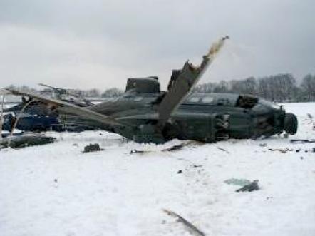 File:2013 Berlin helicopter crash pic of damaged Super Puma.
