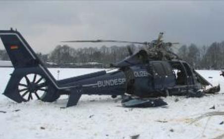 File:2013 Berlin helicopter crash pic of damaged EC 115 B.