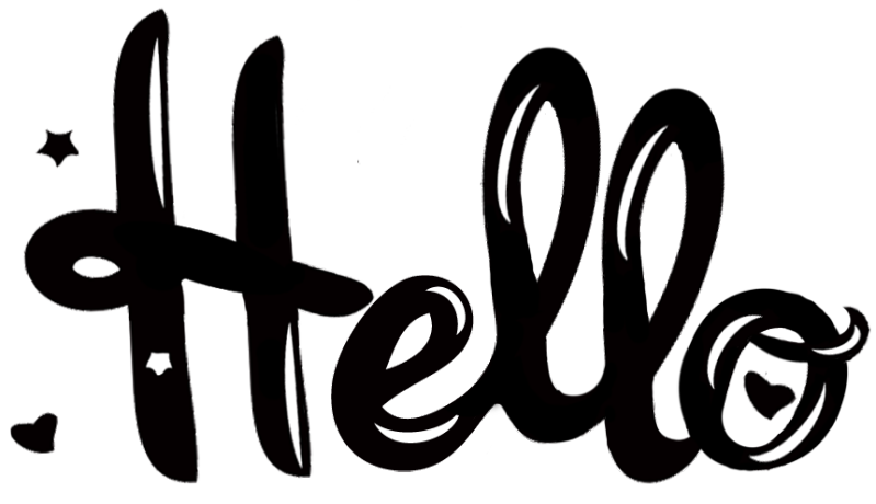 Hello word PNG images free download.