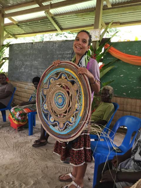Bougainvillean women Prepare for Asia.