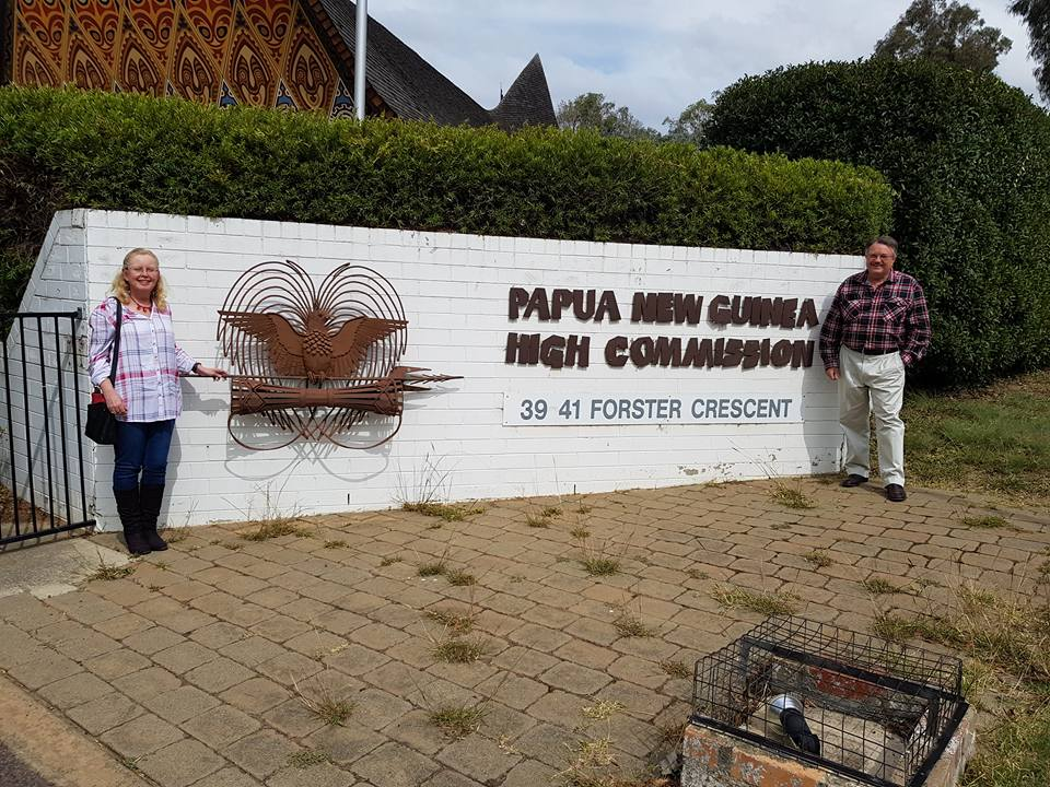 Impressions of Papua New Guinea  so far. — Sandra Bennett.