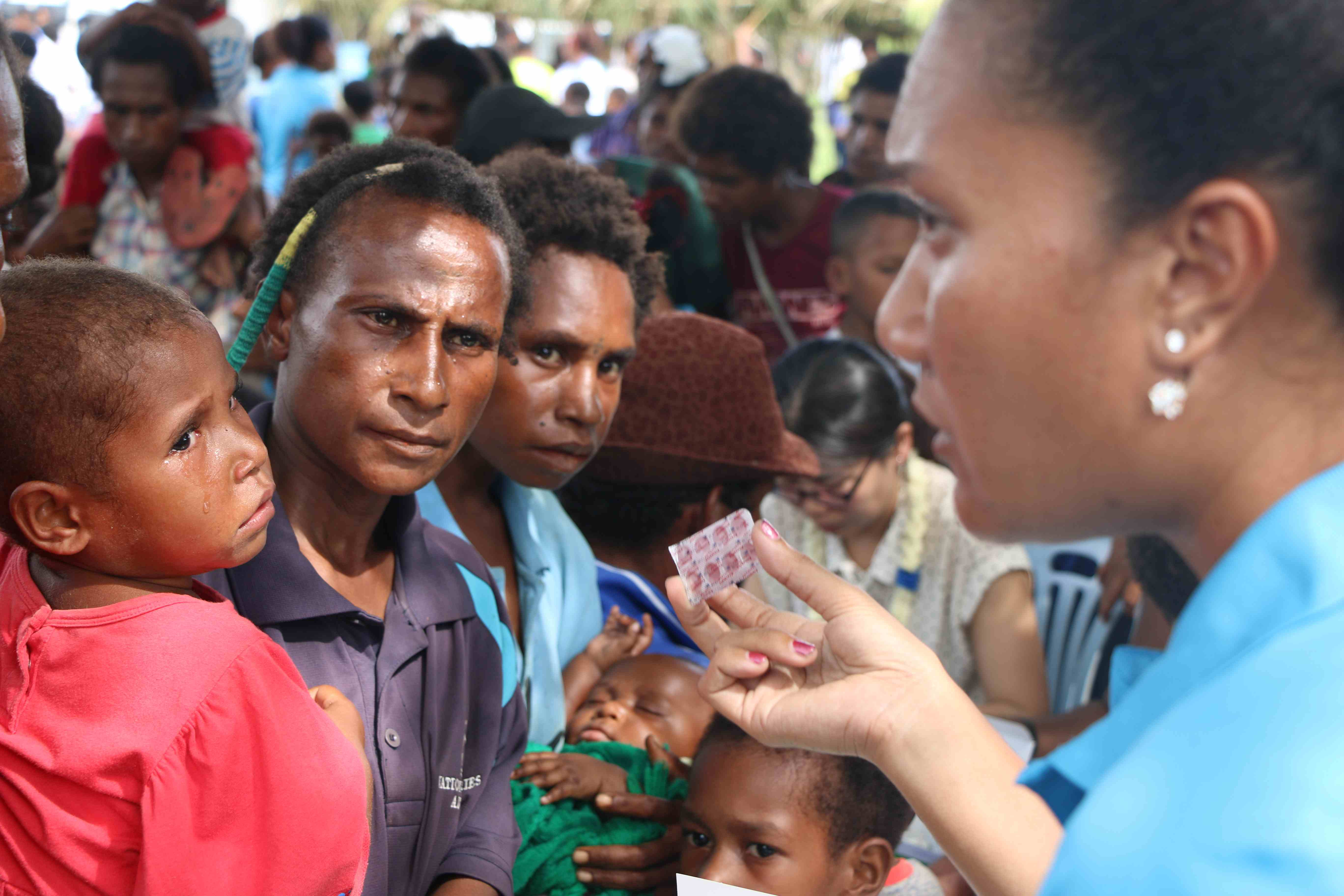 Investing in health security for PNG and the region.