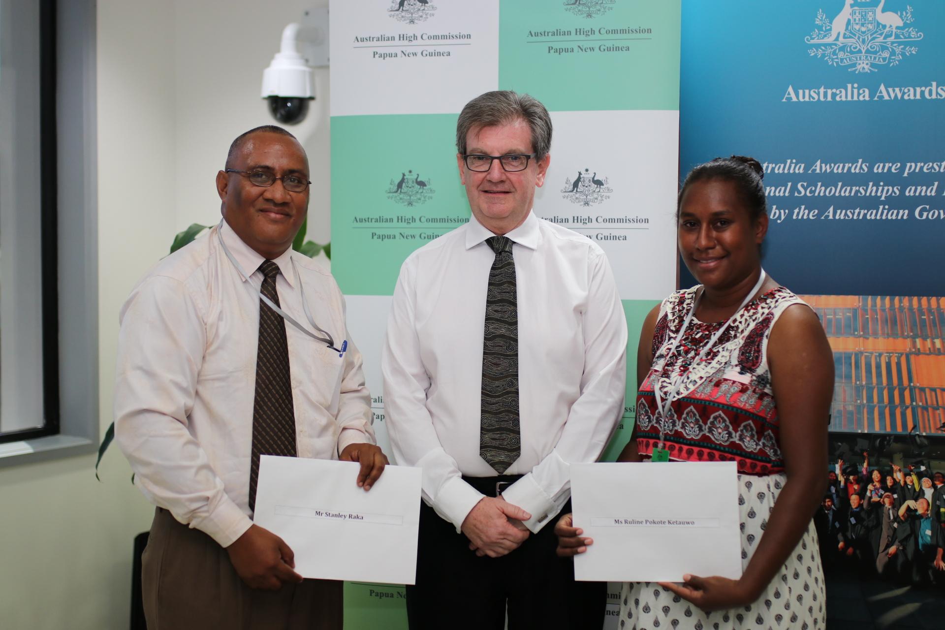 Papua New Guinea\'s Allison Sudrajat Prize recipients announced.