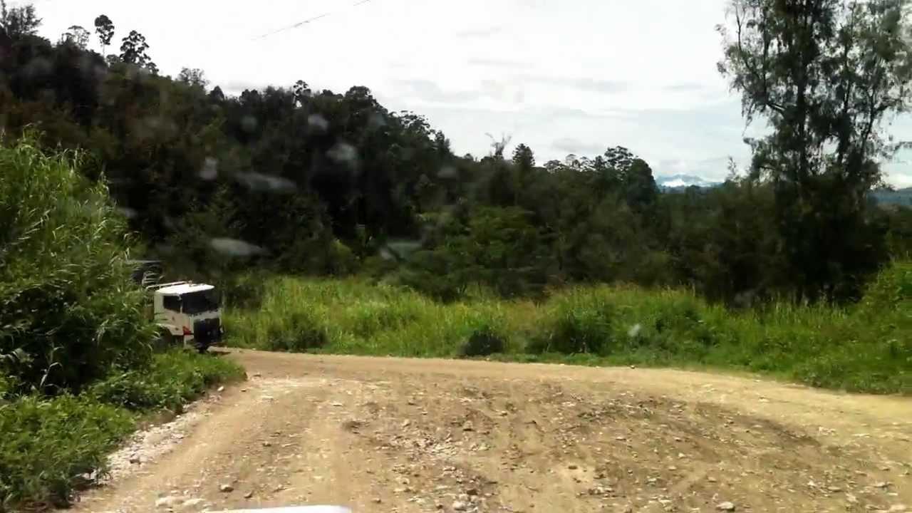 PNG Highlands Highway.