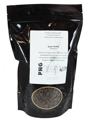 PNG Highlands Summit Coffee Co. Dark Roast Coffee, 12 oz.