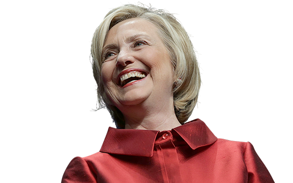 Hillary Clinton PNG images free download.