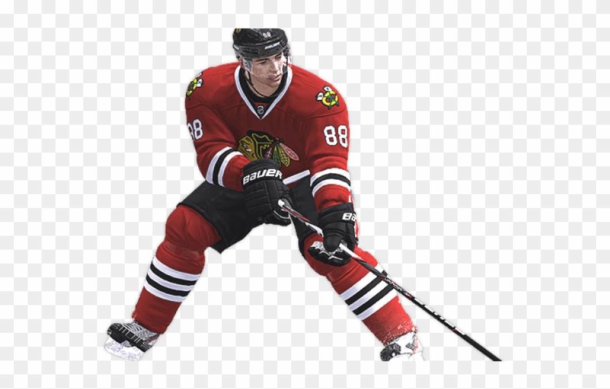 Nhl Clipart Hockey Player.
