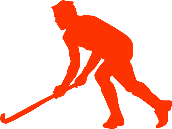 Field Hockey Male Player transparent PNG.