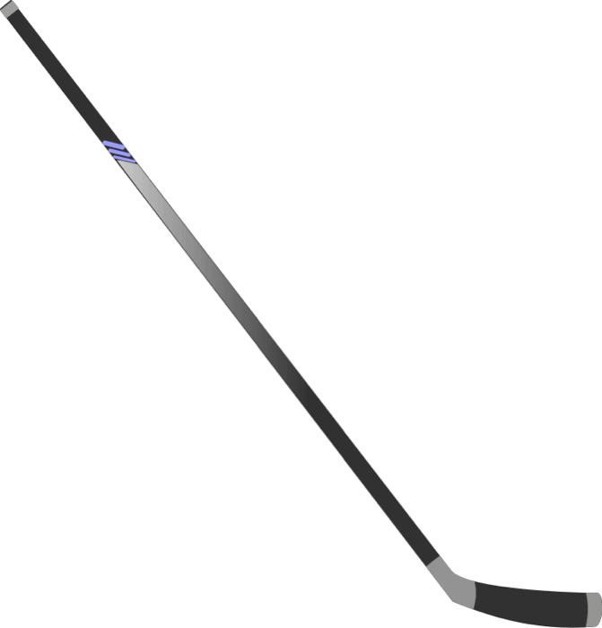 Hockey Stick transparent PNG.