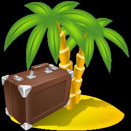 Holiday, travel icon.