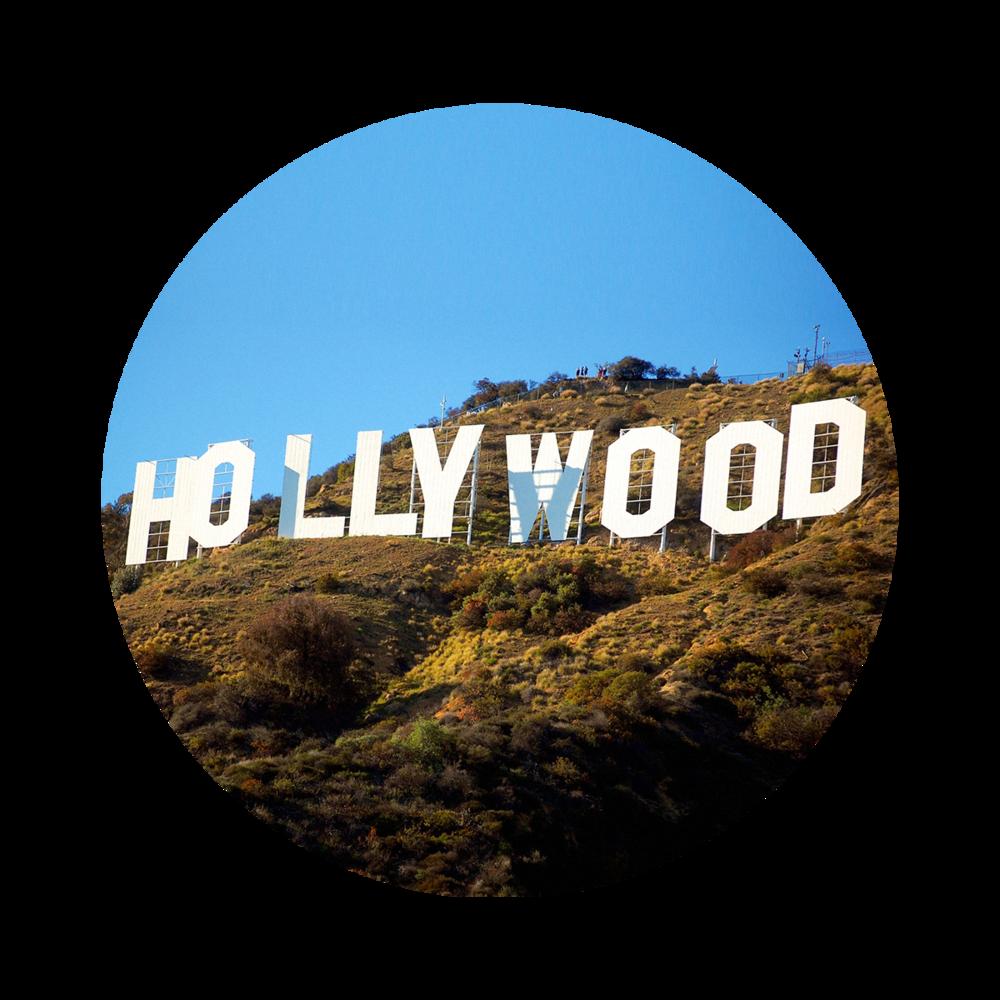 Hollywood Sign PNG Images Transparent Free Download.