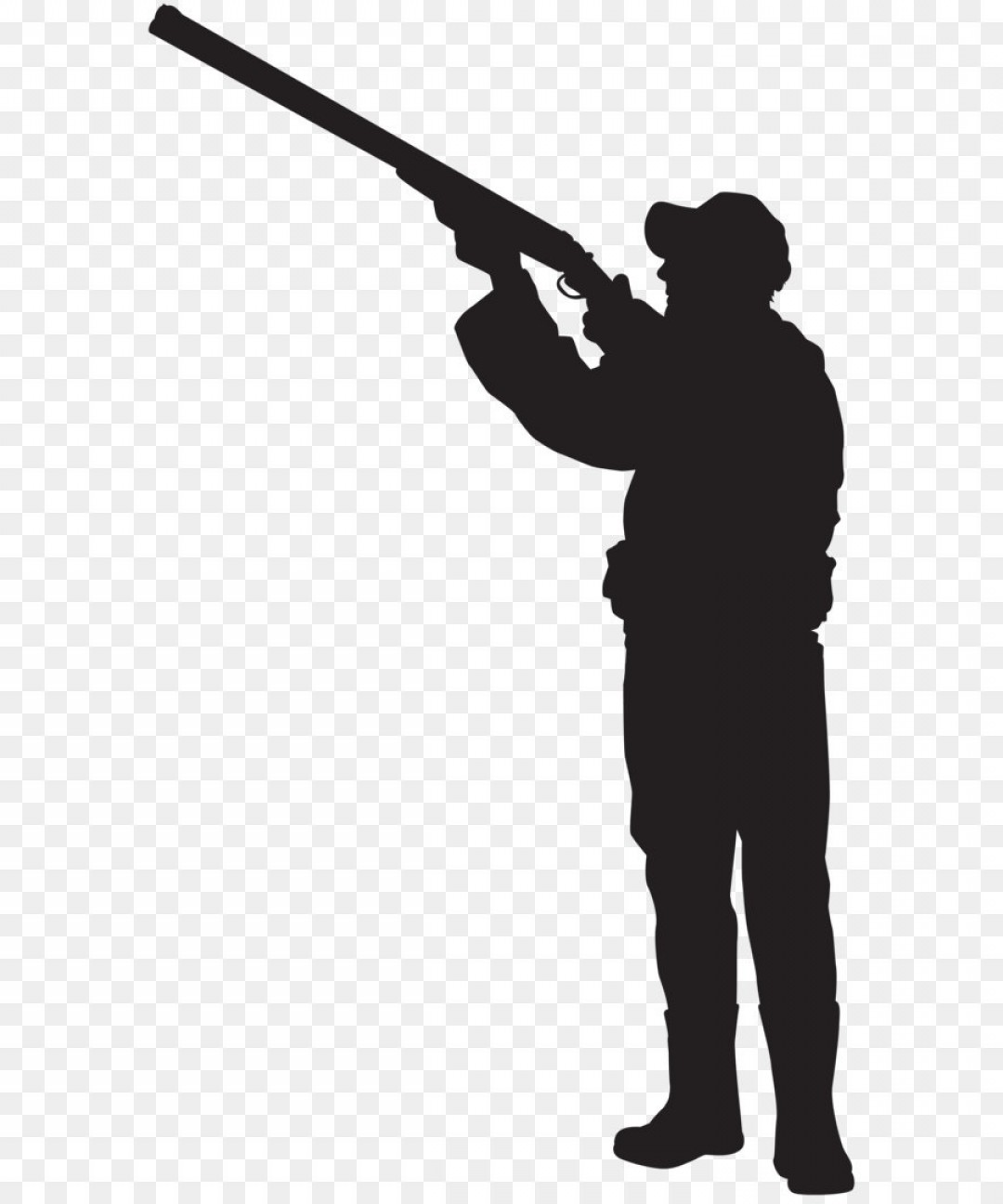 Png Hunter Silhouette Png Clip Art Image.