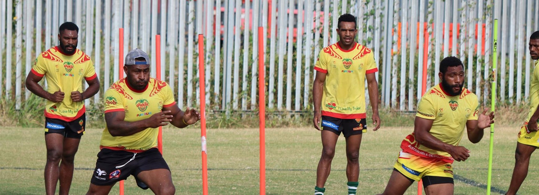 PNG Hunters 2019 squad update.