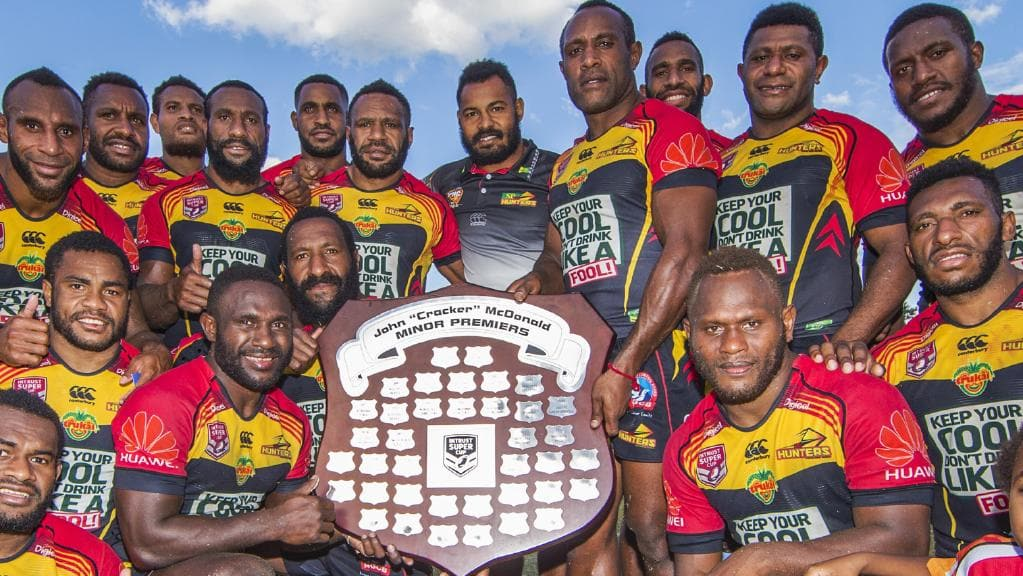 NRL expansion: PNG Hunters final, Perth, junior rugby league.