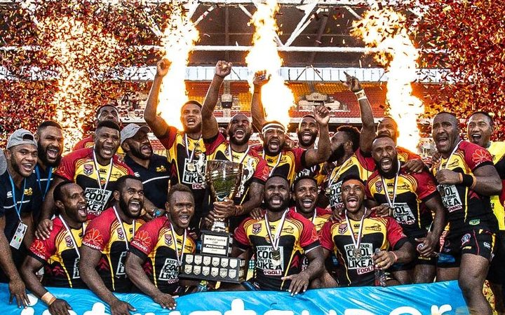 Sport: PNG Hunters coach confident they can defend title.