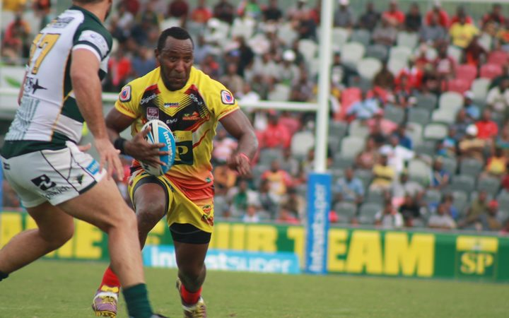 Sport: PNG Hunters beaten in grand final rematch.