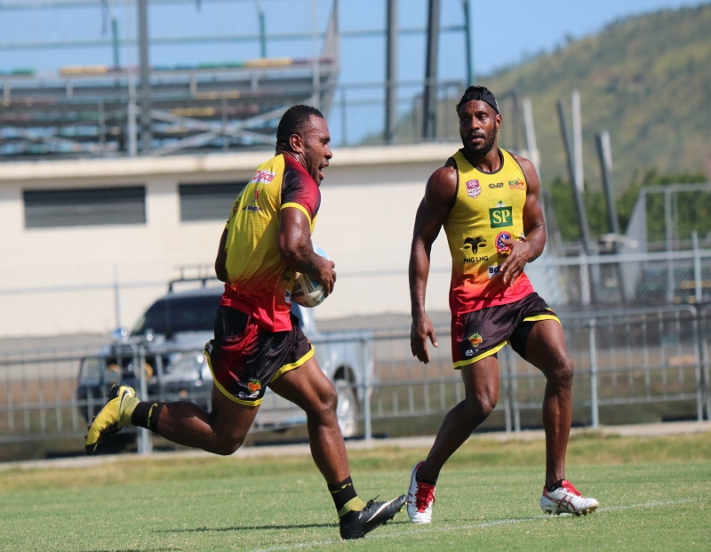 PNG Hunters team for Round 2 match against Northern Pride.