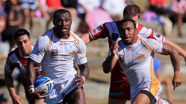 PNG Hunters shoot down Ipswich Jets 40.