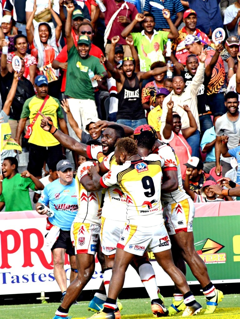 Unpretentious Black Thoughts: SP PNG Hunters through to.