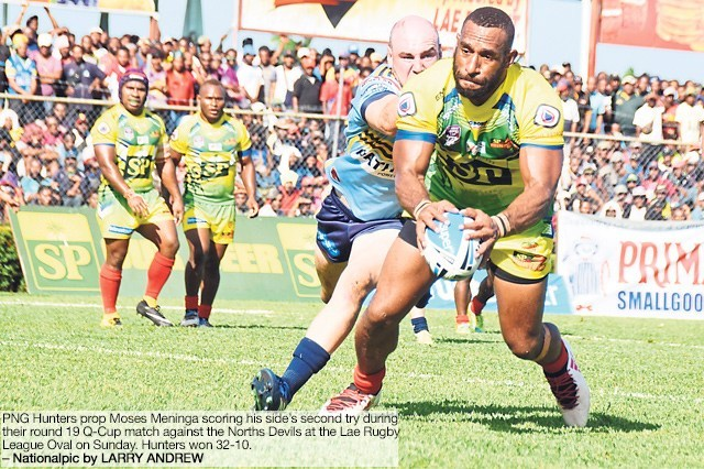 Hunters reign in Lae.
