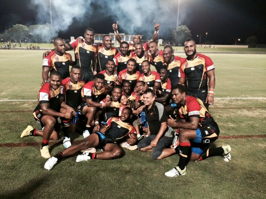 PNG Hunters beat Northern Pride 44.