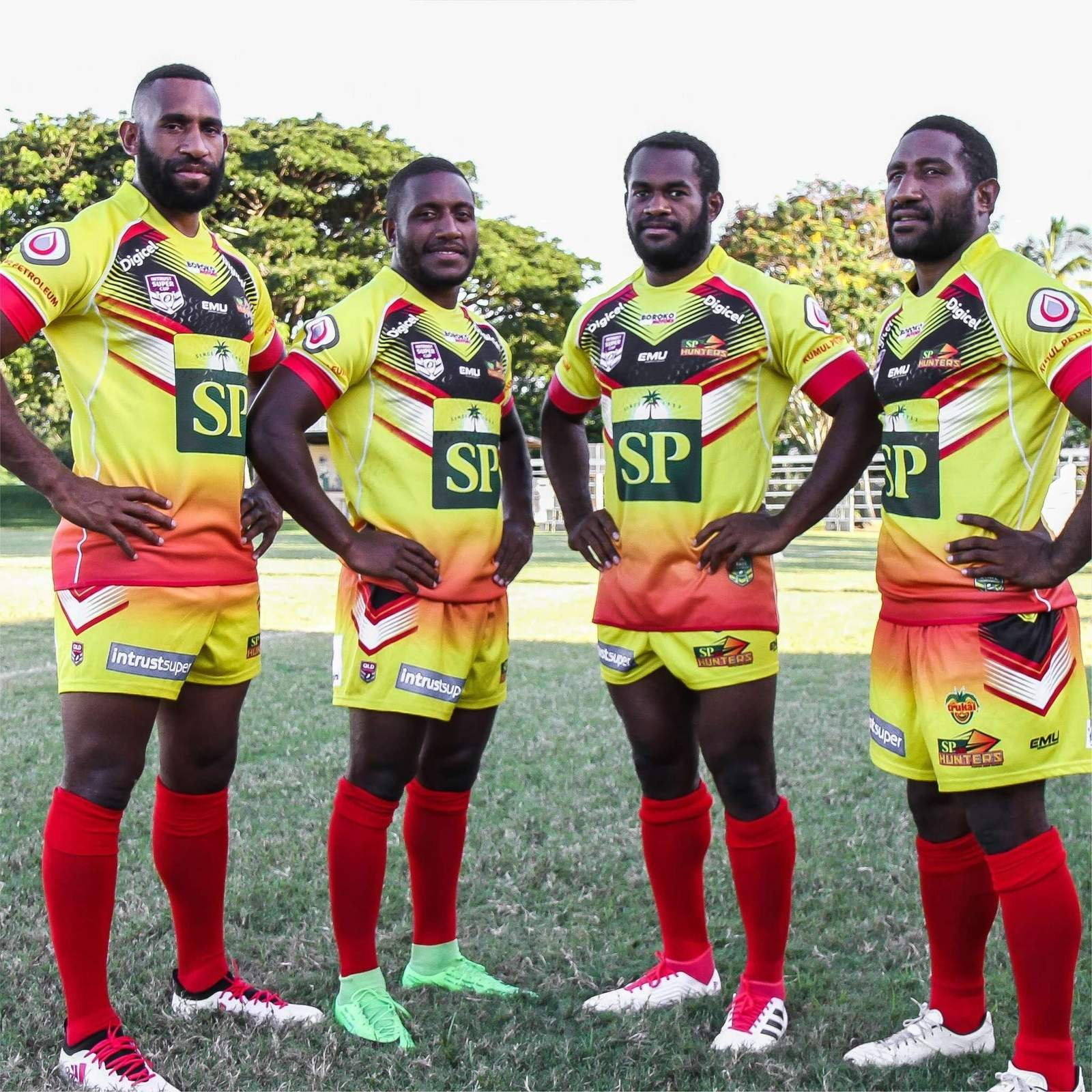 2018 SP PNG Hunters Replica Home Jersey.