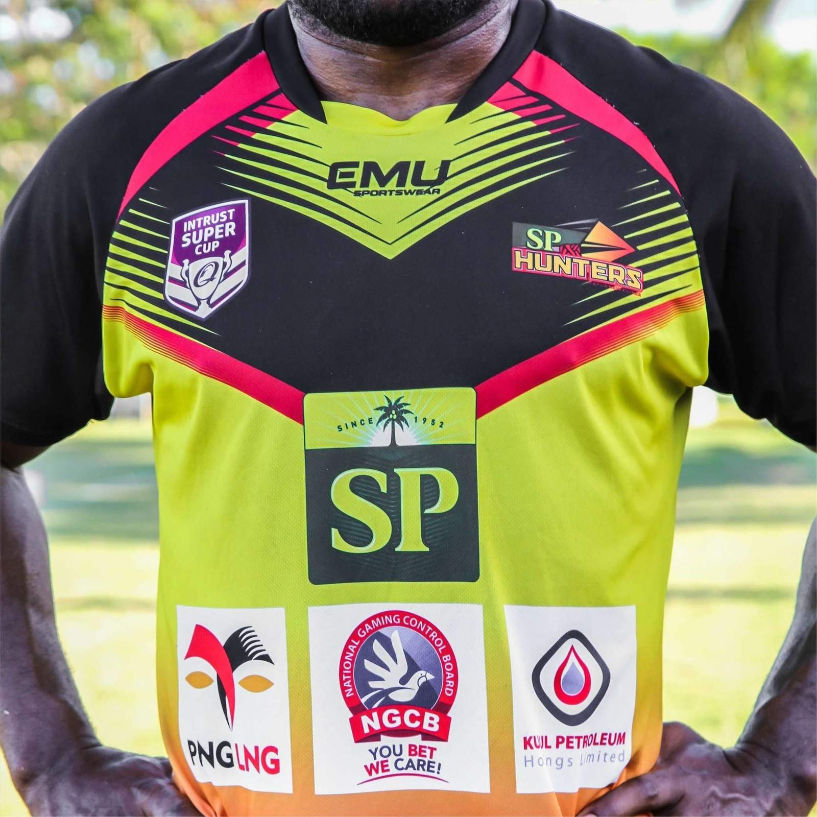 2018 SP PNG Hunters Training Tee.